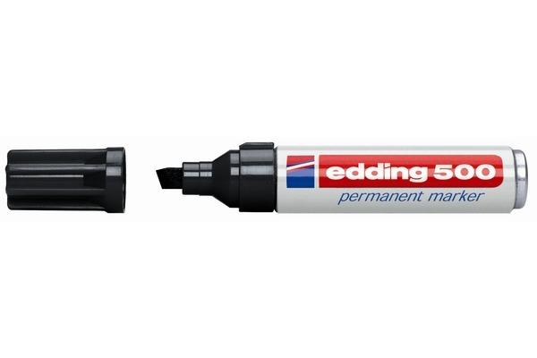 EDDING Permanent Marker 500 2-7mm 500-1 schwarz