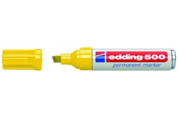 EDDING Permanent Marker 500 2-7mm 500-5 gelb