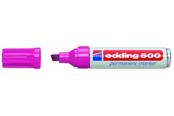 EDDING Permanent Marker 500 2-7mm 500-9 rosa