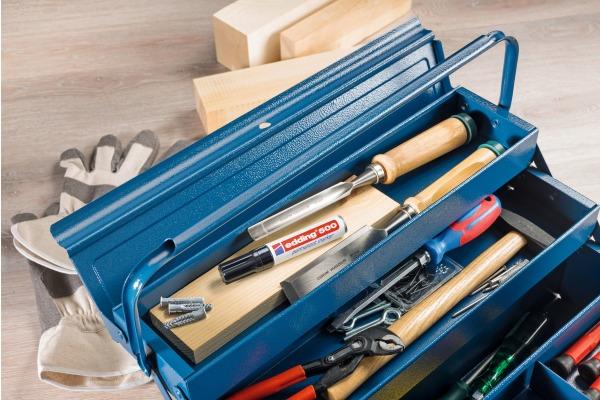 EDDING Permanent Marker 500 2-7mm 500-999 10 Farben assortiert