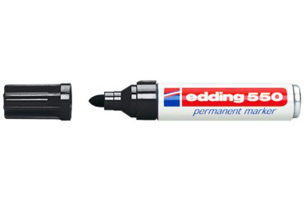 EDDING Permanent Marker 550 3-4mm 550-1 schwarz