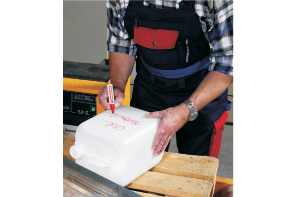 EDDING Permanent Marker 550 3-4mm 550-2 rot