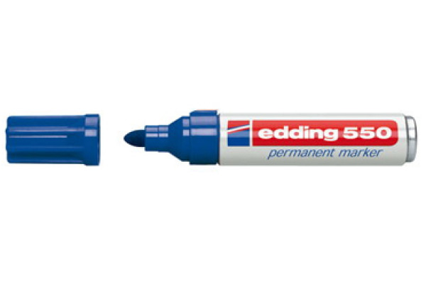 EDDING Permanent Marker 550 3-4mm 550-3 blau
