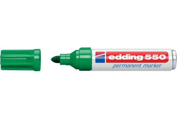 EDDING Permanent Marker 550 3-4mm 550-4 grün
