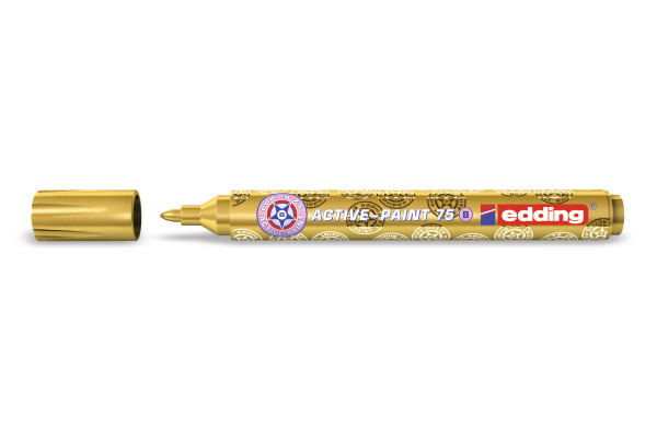 EDDING Active Paint 75 2-3mm 75-53 gold