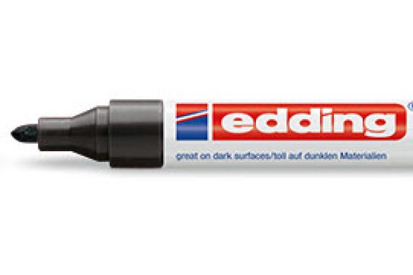 EDDING Paintmarker 750 2-4mm 750-1 CREA schwarz
