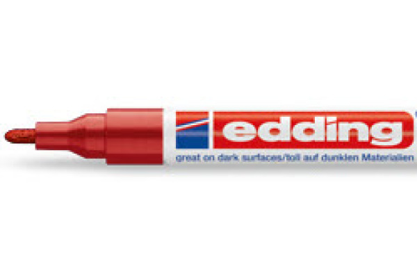 EDDING Paintmarker 751 CREA 1-2mm 751-2 CREA rot
