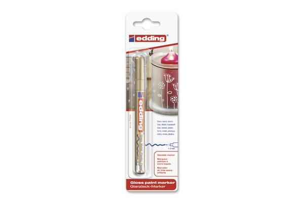 EDDING Paintmarker 751 CREA 1-2mm 751BLI-53 CREA gold...