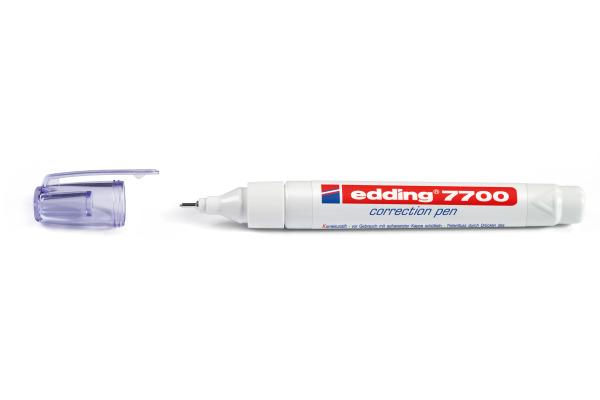 EDDING Correction Pen 1-2mm 7700 weiss
