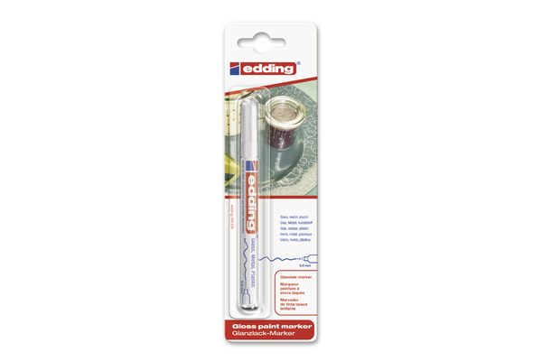 EDDING Paintmarker 780 0.8mm 780BLI-49 CREA weiss Blister