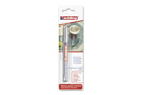 EDDING Paintmarker 780 0.8mm 780BLI-54 CREA silberer Blister