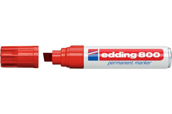 EDDING Permanent Marker 800 4-12mm 800-2 rot