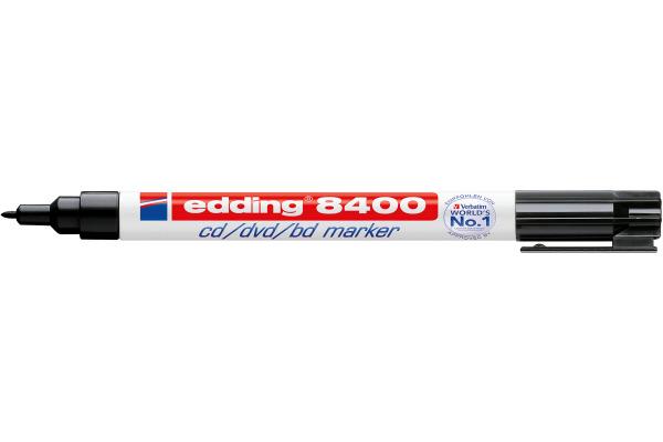 EDDING CD-Marker 8400 0,5-1mm 8400-1 schwarz