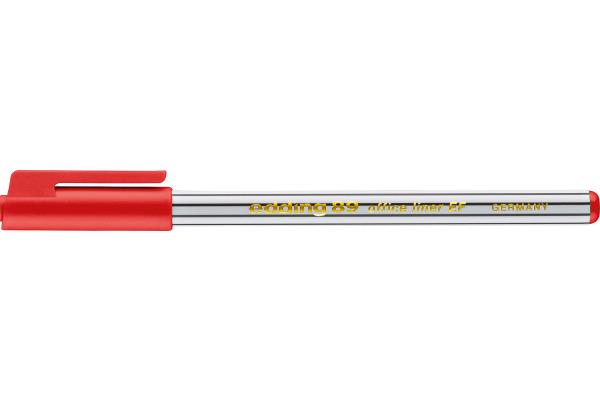 EDDING Fineliner 89 officeliner 0,3mm 89-2 rot
