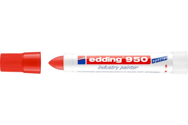 EDDING Industrial Marker 950 10mm 950-2 rot