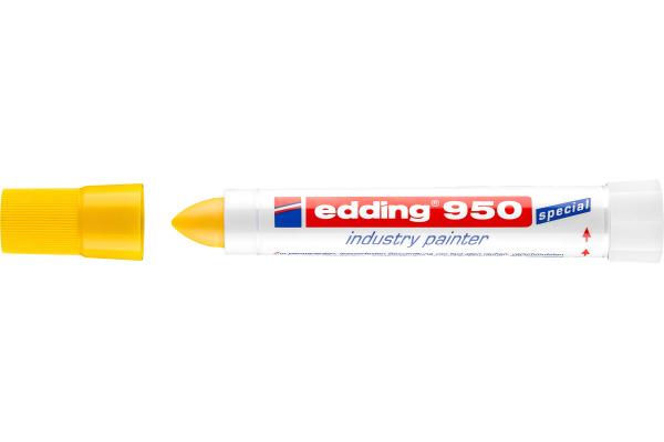 EDDING Industrial Marker 950 10mm 950-5 gelb