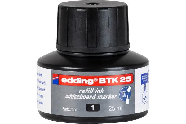 EDDING Nachfülltusche BTK25 BTK-25-1 schwarz