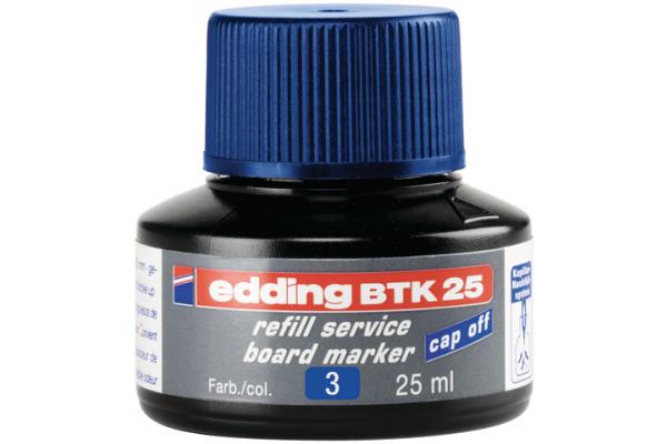 EDDING Nachfülltusche BTK25 BTK-25-3 blau