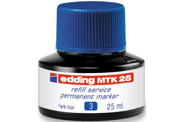 EDDING Tinte 25ml MTK-25-3 blau