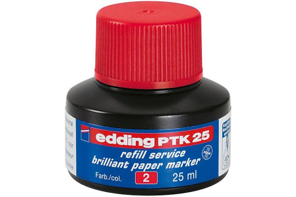 EDDING Tinte 25ml PTK-25-2 rot