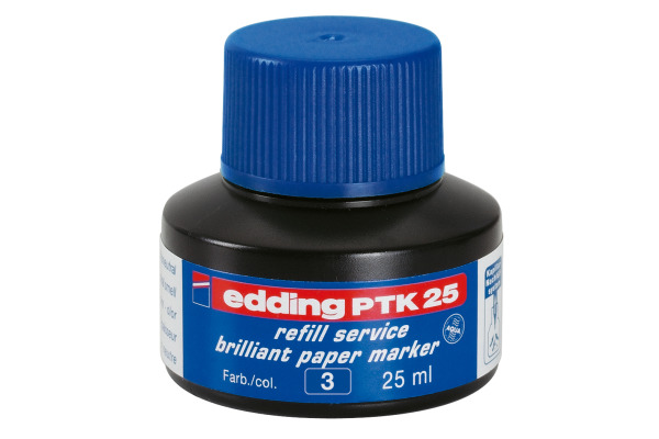 EDDING Tinte 25ml PTK-25-3 blau