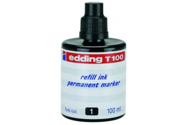 EDDING Tinte 100ml T-100-1 schwarz