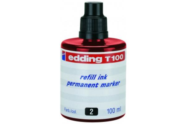 EDDING Tinte 100ml T-100-2 rot
