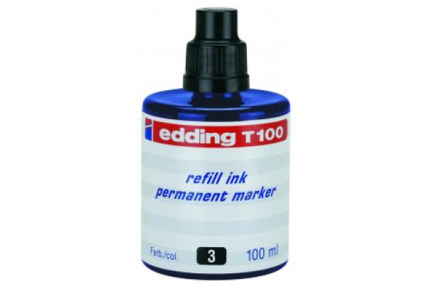 EDDING Tinte 100ml T-100-3 blau
