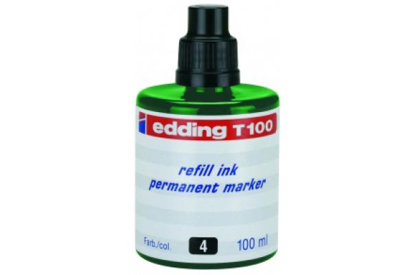 EDDING Tinte 100ml T-100-4 grün