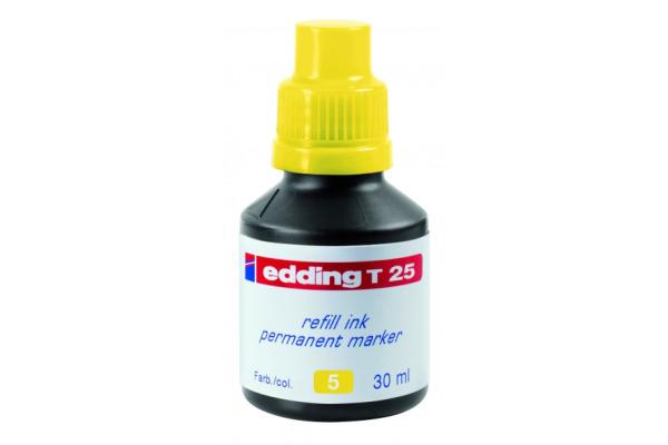 EDDING Tinte 30ml T-25-5 gelb