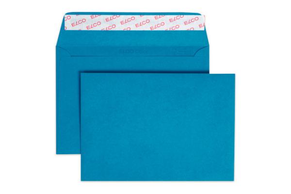 ELCO Couvert Color o Fenster C6 18832.33 100g, blau 250 Stück