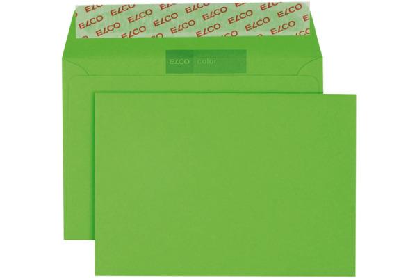 ELCO Couvert Color o/Fenster C6 18832.62 100g, grün 250 Stück