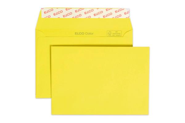 ELCO Couvert Color o Fenster C6 18832.72 100g, gelb 250 Stück