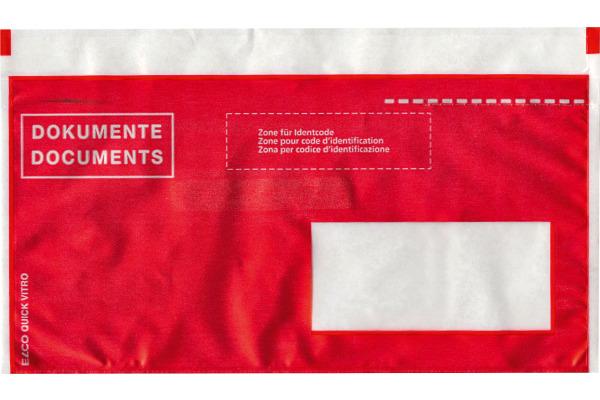 ELCO Dokumentent. Quick Vitro C6/5 29023.80 rot, Fenster...