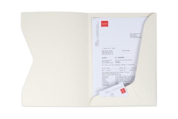 ELCO Offertmappe A4 29450.22 ivory 10 Stück