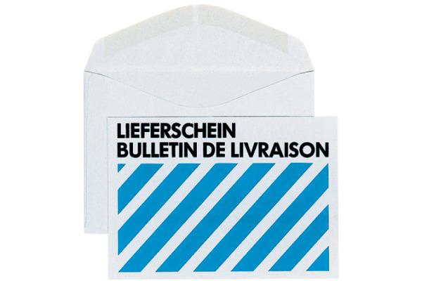 ELCO Couvert Grau o/Fenster C6 30115 80g, recycling 500 Stück