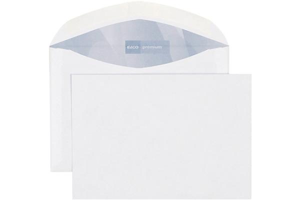 ELCO Couvert Premium o/Fenster C6 30185 80g, weiss 500 Stück