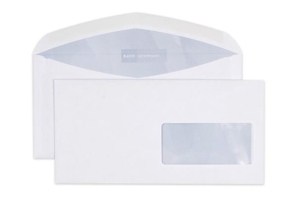 ELCO Couvert Premium m/Fenster C5/6 30496 100g, weiss 500 Stück