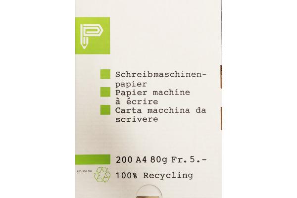 ELCO Schreibmaschinenpapier A4 306091 Recycling 200 Blatt