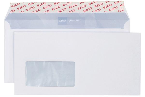 ELCO Couvert Premium m/Fenster C5/6 30779 100g, weiss 500 Stück