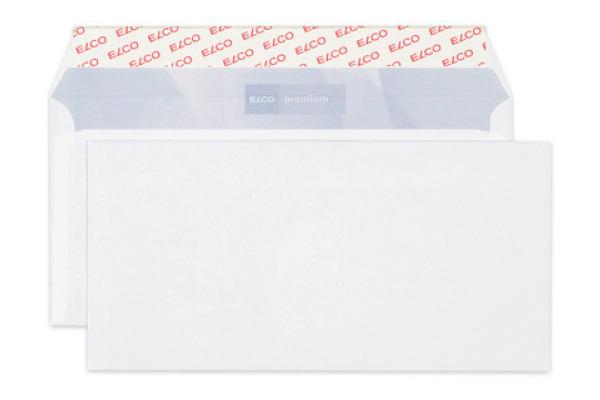 ELCO Couvert Premium o/Fenster C5/6 30782 80g, weiss 500 Stück
