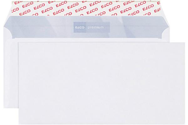 ELCO Couvert Premium o.Fenster C5/6 30786 100g hochweiss,Kleber 500 Stk.