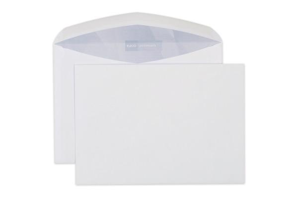 ELCO Couvert Premium o/Fenster C5 32486 100g, weiss 500 Stück