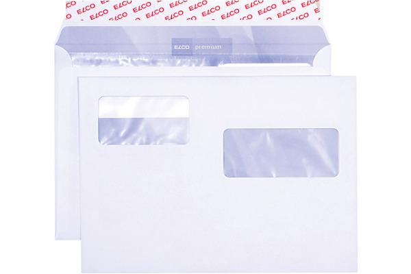ELCO Couvert mit zwei Fenster C5 32501 100g, weiss 500...