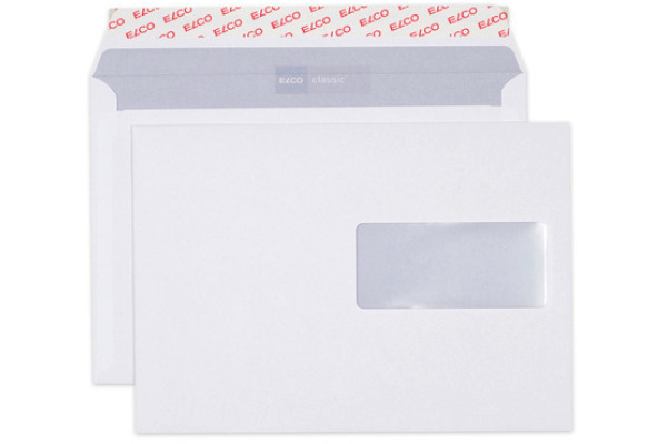 ELCO Couvert Classic m/Fenster C5 37896 100g, weiss 500...