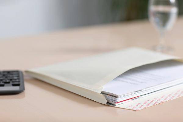ELCO Couvert Documento Kraft C4+ 48698 120g, beige, Klebung 200 Stk.