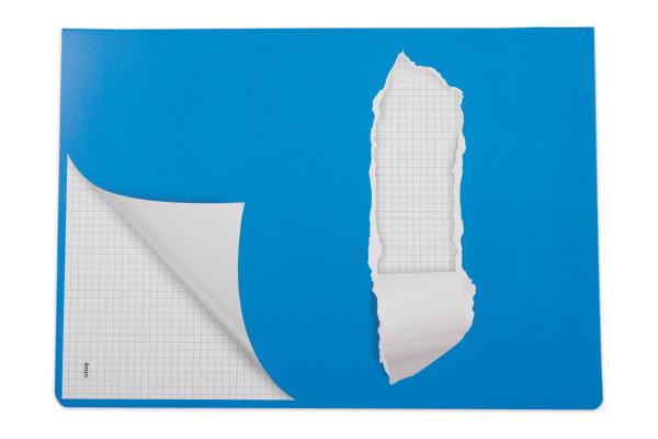 ELCO Schulheft A4 73051.37 kariert blau