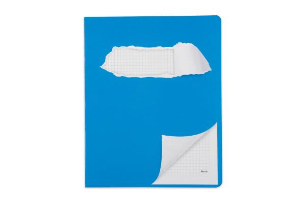 ELCO Schulheft 17,5x22cm 73053.37 kariert blau