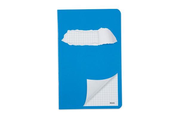 ELCO Schulheft 11x17,5cm 73065.37 kariert blau