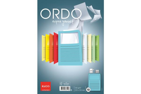 ELCO Organisationsmappen Ordo A4 73695.31 blau, Fenster...